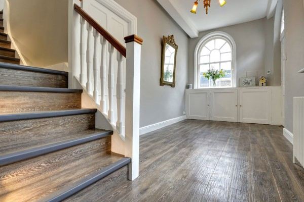 Kardean wood flooring stairs