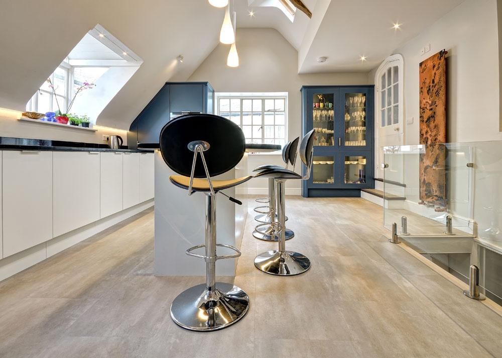 Karndean Luxury Vinyl Tile Flooring for Kitchens in Woodbridge - Harts Carpets and Flooring