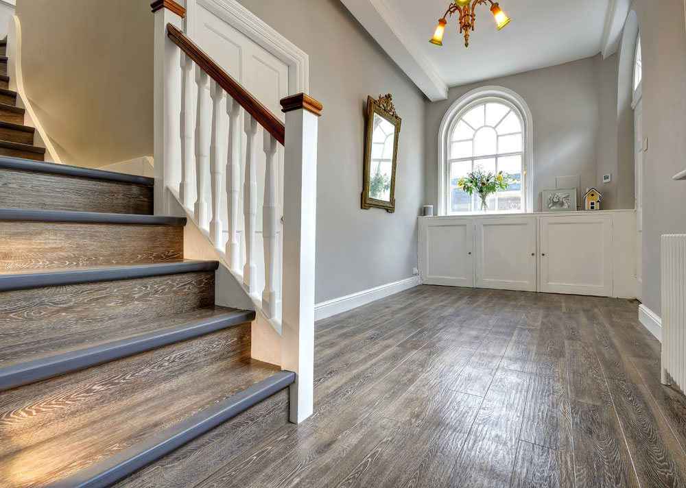 Kardean Wood Flooring for Hallways and Stairs - Harts Carpets and Flooring