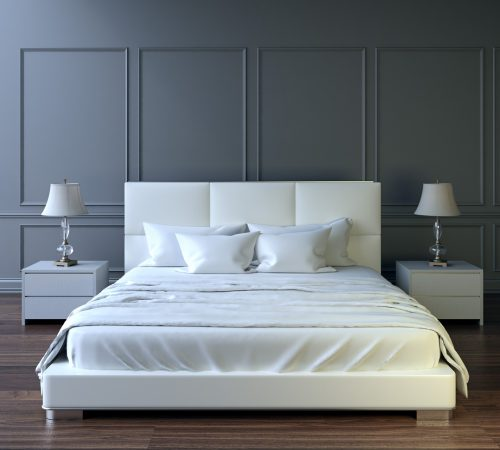 Modern bedroom flooring